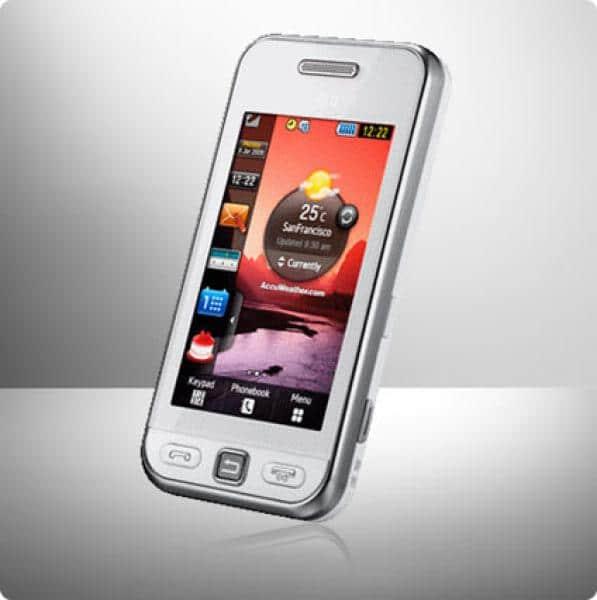 Samsung Handy weiß