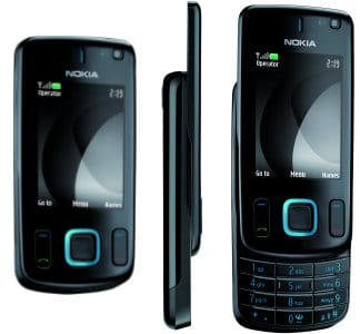Nokia Slider Handy 6600