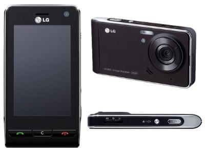 LG Handy schwarz