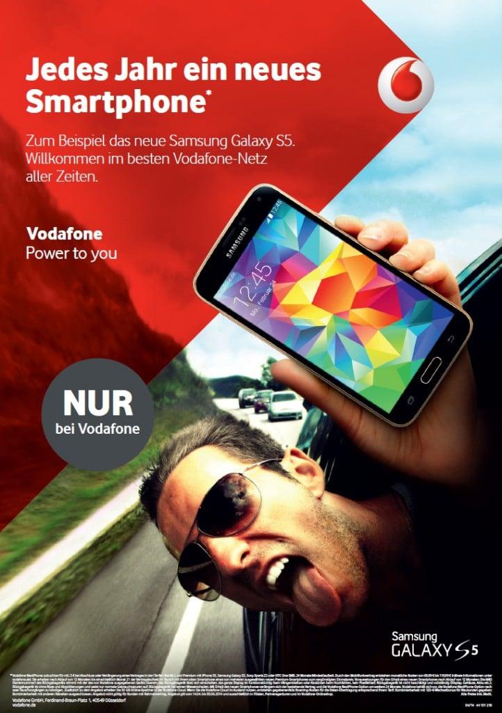 Vodafone Werbung 2014