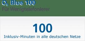 O2 Blue 100