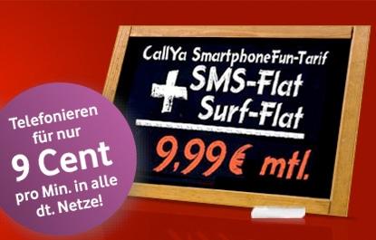 Callya Smartphone Fun 10 Woche Tarif