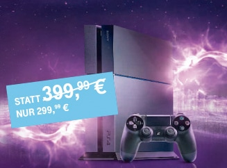 playstation 4 f r 299 kaufen ps4 bei telekom call surf. Black Bedroom Furniture Sets. Home Design Ideas