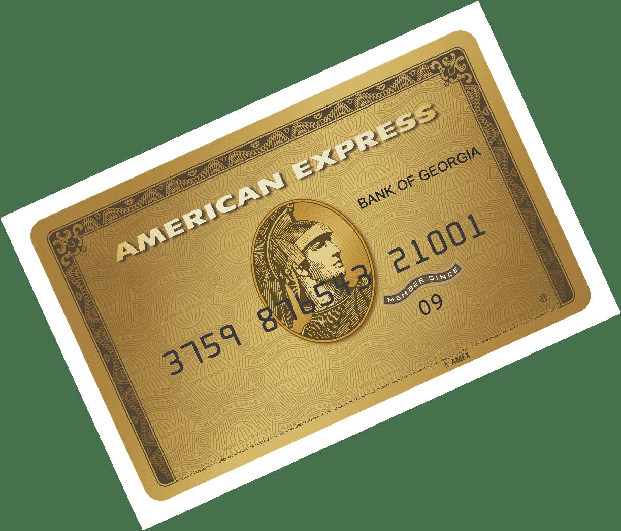 American Express Gold Karte