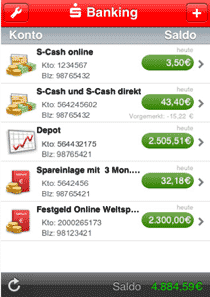 iPhone Mobile Banking