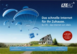 O2 LTE zuhause