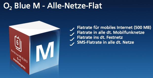 O2 Blue M Allnet Flat